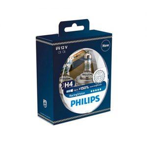 Philips auton polttimot | PHILIPS RacingVision 150% H4 H7 | Järvenpään Varaosakeskus