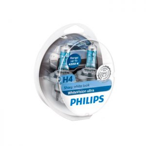 Auton polttimot | Philips WhiteVision H4 H7 60% | Järvenpään Varaosakeskus Oy