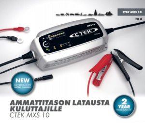 CTEK Auton Akkulaturi - Järvenpään Varaosakeskus