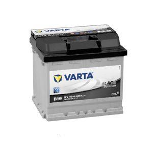 VARTA akut | VARTA akku | VARTA akku hinta | VARTA B19 Black Dynamic B19 45Ah | Järvenpään Varaosakeskus