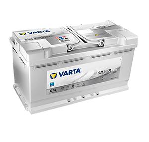 Varta akku G14 AGM | Varta Silver Dynamic | Järvenpään Varaosakeskus