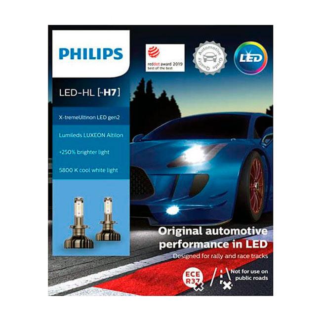 H7 led polttimo | led polttimot | Philips X-TremeUltinon Gen2 | Järvenpään Varaosakeskus