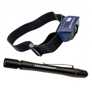 Scangrip led otsa- ja käsivalaisinpaketti Sensor 2 + Flash Pen | Järvenpään Varaosakeskus