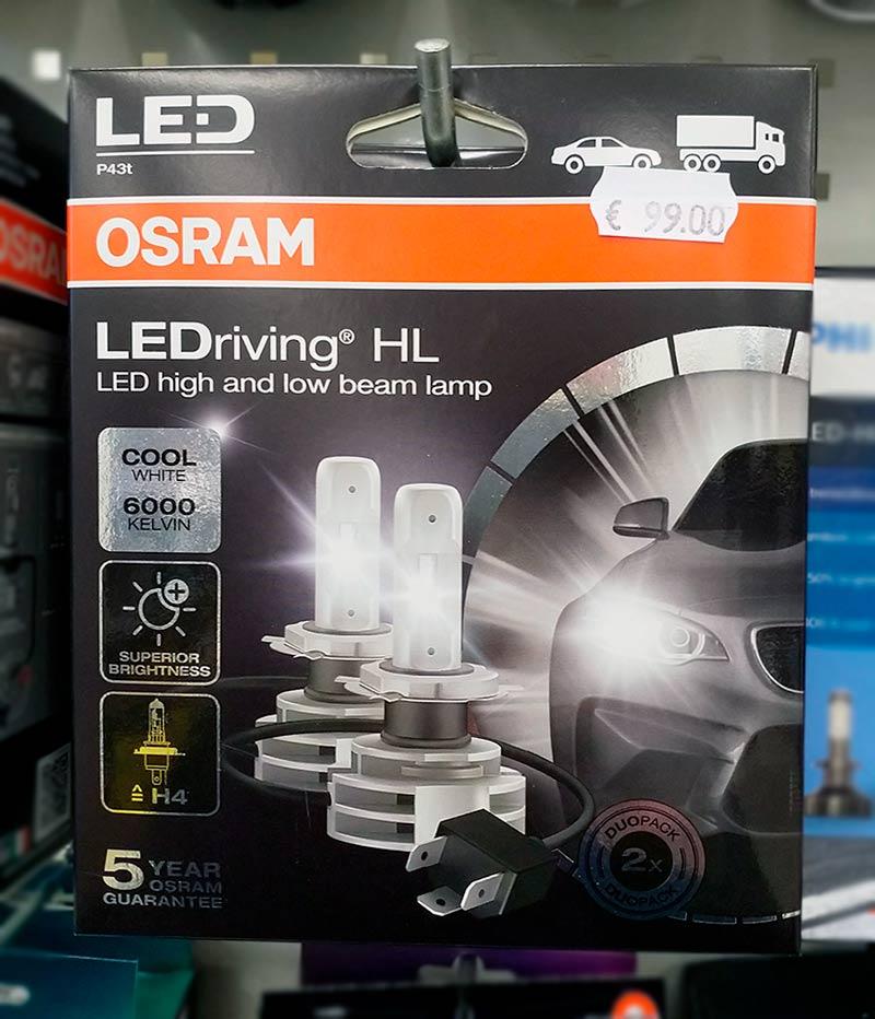 OSRAM led polttimot | OSRAM H4 led | Järvenpään Varaosakeskus Oy
