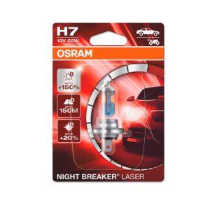 Osram Night Breaker Laser H7 | Järvenpään Varaosakeskus Oy